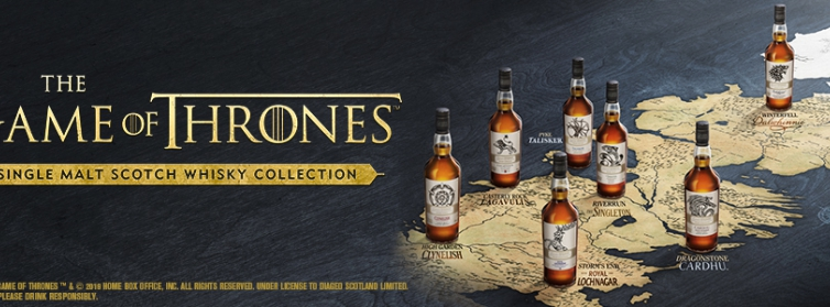 Game of Thrones Single Malt Collection: Beschikbaar in onze Whiskykelder